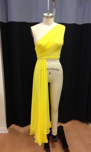 Custom Dress Overlay