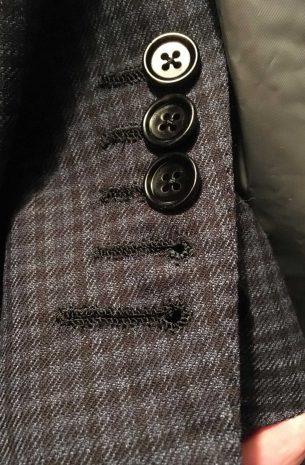 Hand Sewn Buttonholes 2